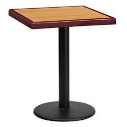 "Standard Height Table with Round Base - 24""W x 24""D, 44326"