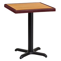 "Standard Height Table with X Base - 24""W x 24""D, 44336"