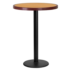 "Bar Height Table with Round Base - 30""DIA, 44339"