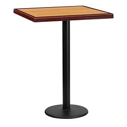 "Bar Height Table with Round Base - 30""W x 30""D, 44344"