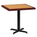 "Standard Height Table with X Base - 30""W x 30""D, 44345"