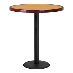 "Bar Height Table with Round Base - 36""DIA, 44359"