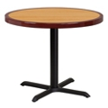 "Standard Height Table with X Base - 36""DIA, 44361"