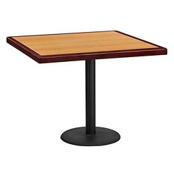 "Standard Height Table with X Base - 36""W x 36""D, 44363"