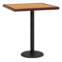 "Bar Height Table with Round Base - 36""W x 36""D, 44364"
