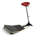 Leaning Perch Stool with Anti-Fatigue Mat by Focal Upright, 50934