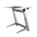 "Height Adjustable Desk 60""W by Focal Upright, 14429"