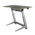 "Height Adjustable Desk 72""W by Focal Upright, 14430"