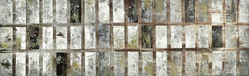 Grey Block Wall Décor, 92299