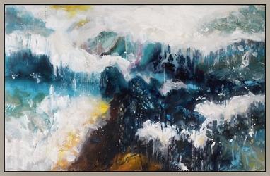 Whitecaps Wall Painting, 92249