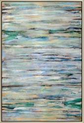 Blue Braid Wall Painting, 92231