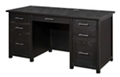 "Double Pedestal Desk 62""W x 27""D, 14697"