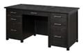 """Double Pedestal Desk 62""""W x 27""""D, 14697"""