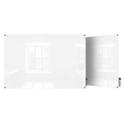 3' W x 2' H Square Corner Glass Board, 80506