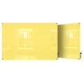 4' W x 3' H Square Corner Glass Board, 80507