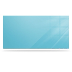 "Magnetic Glass White Board - 72""W x 48""H, 80642"