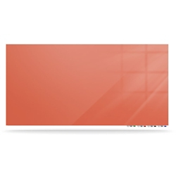 "Magnetic Glass White Board - 48""W x 36""H, 80639"