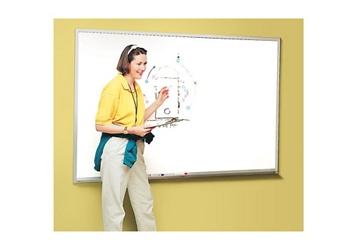 Melamine White Board with Aluminum Frame 5' x 4', 80836