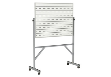Reversible Whiteboard with Penmanship Lines and Blade Tray - 3' x 4', 80944