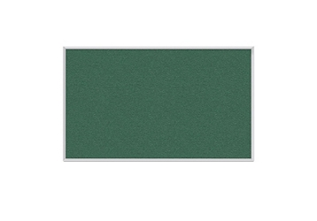 Vinyl Tack Board with Aluminum Frame 4'W x 3'H, 80989