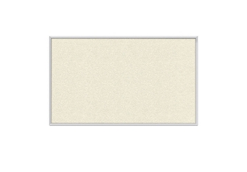 Vinyl Tack Board with Aluminum Frame 5'W x 4'H, 80992