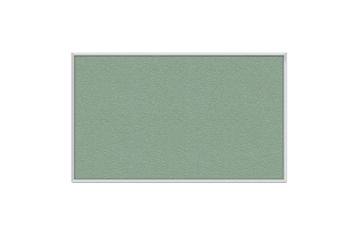 Vinyl Tack Board with Aluminum Frame 8'W x 4'H, 80994