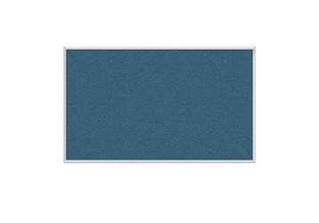 Vinyl Tack Board with Aluminum Frame 10'W x 4'H, 80995