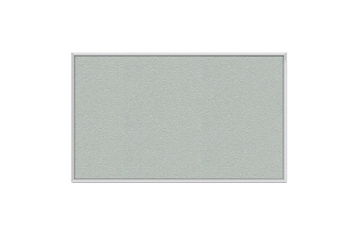 Vinyl Tack Board with Aluminum Frame 12'W x 4'H, 80996