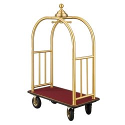 Ball Crown Four Wheel Bellman Cart , 87534