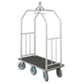 "Ball Crown Six Wheel Bellman Cart - 49.5""W, 87535"