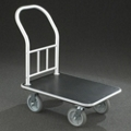 "Value Single Handle Platform Truck with Vinyl Deck - 35""L, 87539"