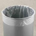"12"" Diameter Poly Bag Liners - 100 Count, 91897"