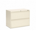 "Lockable Two Drawer Lateral File - 36""W, 30908"
