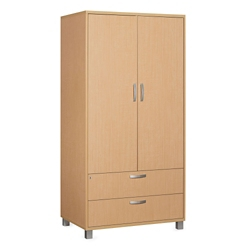 "Two Door Wardrobe Cabinet - 35.5""W, 21345"