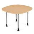 "Square Dining Table  with Caregiver Cut-Outs - 42""W, 21346"
