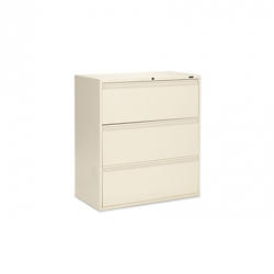 "Lockable Three Drawer Lateral File  - 36""W, 30920"