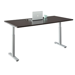 "Contemporary Height Adjustable Table - 60""W x 24""D, 42106"
