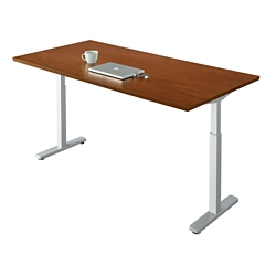 "Contemporary Height Adjustable Table - 48""W x 24""D, 42105"