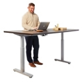 "Contemporary Height Adjustable Table - 72""W x 24""D, 42107"