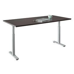 "Contemporary Height Adjustable Table - 60""W x 30""D, 42109"