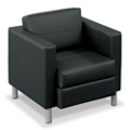 Citi Leather Club Chair, 75491