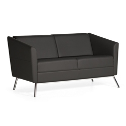 Modern Fabric Loveseat, 75678