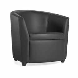 Fabric Round Lounge Chair, 75683