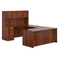"Contemporary U-Desk and Hutch - 71""W x 108""D, 14650"