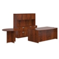 Contemporary Bowfront Desk Suite, 16029