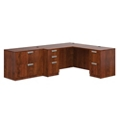 "Contemporary L-Desk and Lateral File Set  - 102""W x 72""D, 16032"
