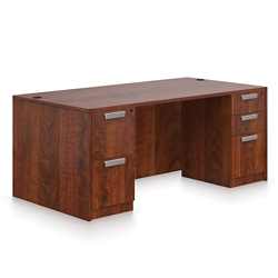 "Contemporary Executive Desk - 71"" x 36"", 14655"