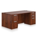 "Contemporary Executive Desk - 60"" x 30"", 10493"
