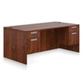 "Contemporary Executive Desk - 71""W x 36""D, 16033"
