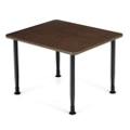 Laminate Table with Adjustable Glides, 41912